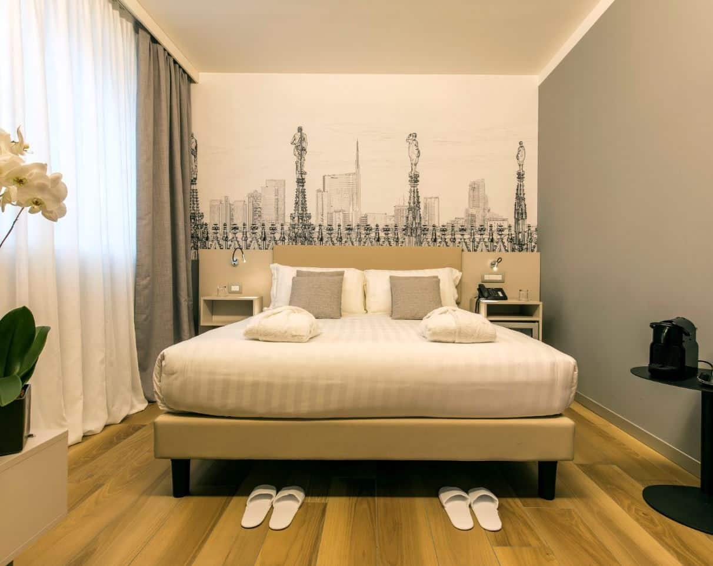 Progetti per Hotel 43 Station, Milano