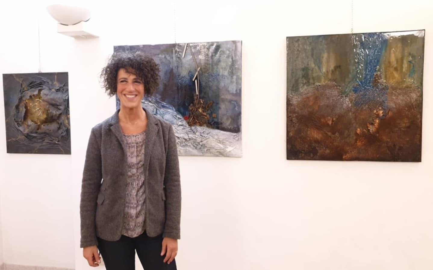 Silvana Brandi mostra le sue opere a Villa Pomini
